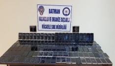 Batmanda 135 adet kaçak akıllı telefon ele geçirildi