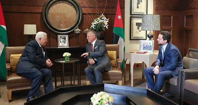 Filistin Devlet Başkanı, Ürdün Kralı ile bir araya geldi