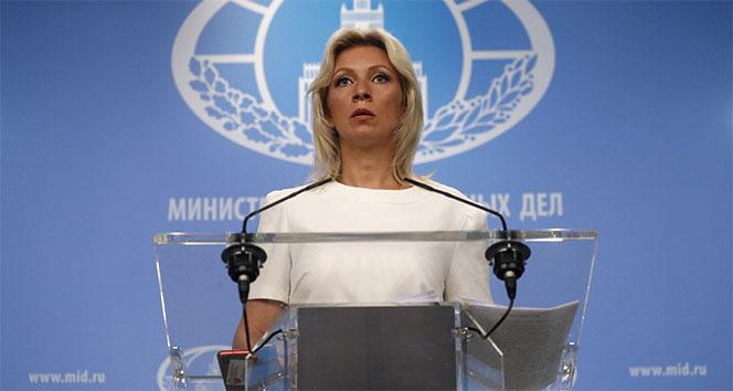 Zaharova: 'ABD gizli belgeleri manipüle etmeyi bırakmalı'