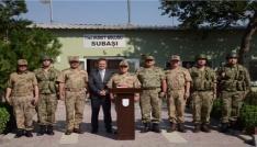 Jandarma Genel Komutanı Orgeneral Arif Çetin, sınırı denetledi
