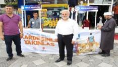 Ağrıda Kurban Bağış Kampanyası standı kuruldu