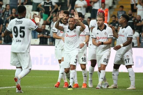 Beşiktaş LASK Linz Maç Bilgi Ekranı