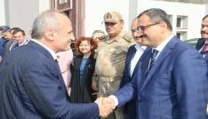 Ulaştırma ve Altyapı Bakanı Turhan, Giresunda