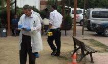 Hastane bahçesinde büyük panik: Ortalık savaş alanına döndü