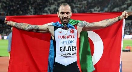 Son dakika... Ramil Guliyev, Avrupa Atletizm Şampiyonasında tarih yazdı