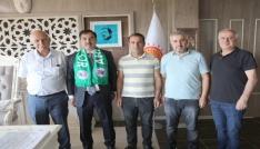 Ahlat Spordan Başkan Çobana teşekkür ziyareti