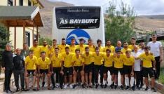 Bayburt İl Özel İdare, 11 gün sürecek kamp için Erzuruma hareket etti