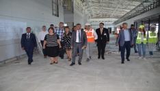 DHMİ Genel Müdürü Ocak, Muş Havalimanındaki çalışmayı inceledi