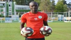 Giresunsporun gol umudu Abiola lige hazır