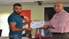 Bulanıkta girişimcilik sertifikası dağıtımı