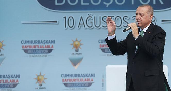 Cumhurbaşkanı Erdoğan: Neymiş, dövizmiş, neymiş kurmuş, geçin o işi geçin