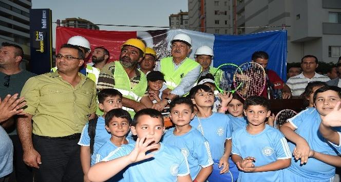 Başkan Karalar'dan Seyhan'a 4 bin metrekarelik spor tesisi