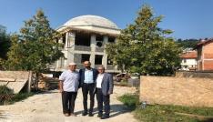 Kardeş  Şehir  Olovada  Ahi Evran-ı Veli Kırşehir Cami yapımı çalışmaları
