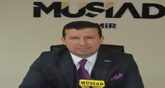 """MÜSİAD İzmir Başkanı Ülkü: """"Bu ekonomik savaşı kaybetmeyeceğiz"""""""