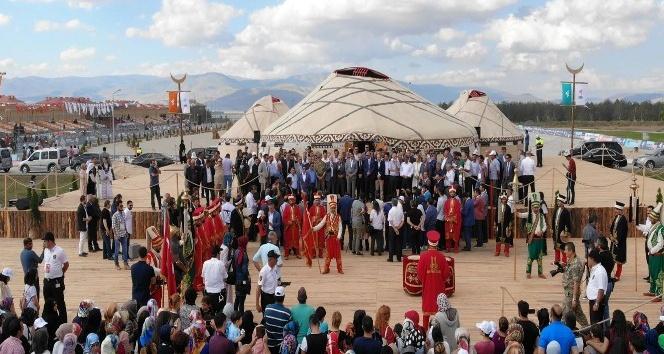 Erzurum Türk Oyunları başladı