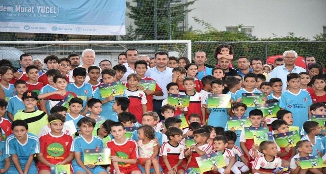 Alanya Yaz Spor Okulları'nda sertifika töreni yapıldı