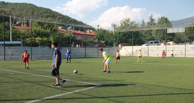 Şaphane'de Futbol turnuvası
