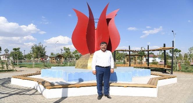 Muş'ta yeni bir park daha hizmete sunuldu