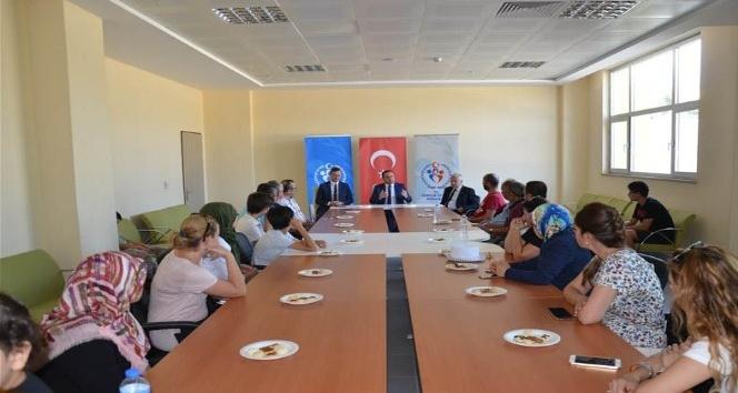 Türkiye Sportif Yetenek Taraması Veli Bilgilendirme Toplantısı yapıldı