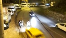 Bitliste trafik kazaları kamerada