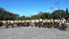 Troiadan Bergamaya 3. UNESCO Dünya Mirası Yolunda Bisiklet Turunun startı verildi