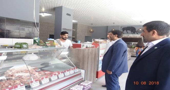 HÜDA-PAR Eskişehir İl Başkanlığı'ndan esnaf ziyareti