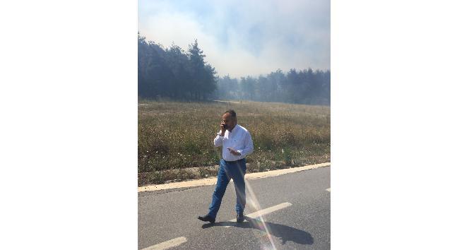 Bursa'daki orman yangını devam ediyor