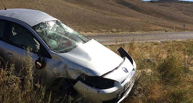 Sivasta trafik kazası: 4 yaralı!!