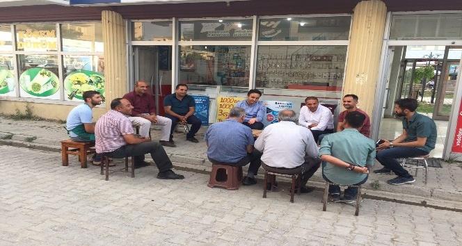 Kaymakam Dundar'ın esnaf ziyareti devam ediyor