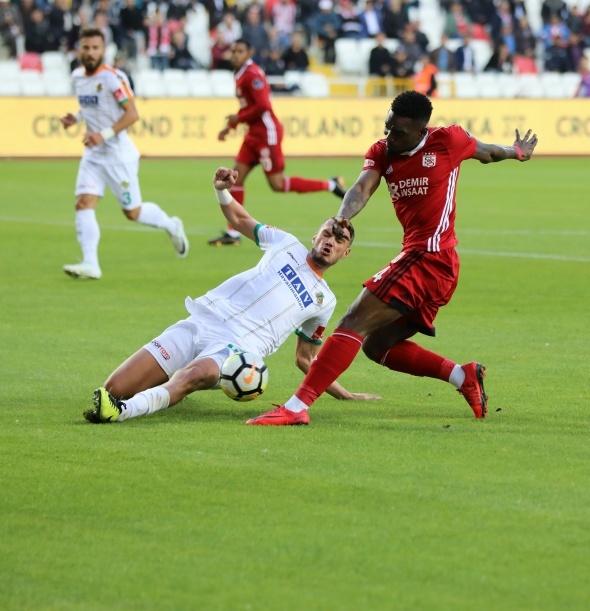 Sivasspor Alanyaspor Maç Bilgi Ekranı