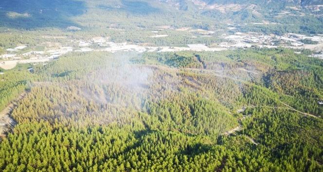 Kaş'taki orman yangını kontrol altına alındı