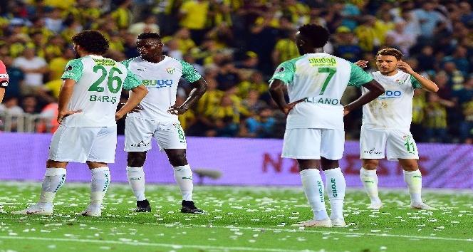 Spor Toto Süper Lig: Fenerbahçe: 2 - Bursaspor: 1 (İlk yarı)