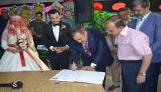 Milletvekili Eroğlu, nikah şahidi oldu