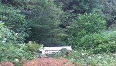 Giresunda mevsimlik fındık işçilerini taşıyan minibüs kaza yaptı: 3 ölü, 12 yaralı