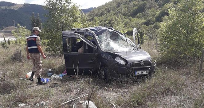 Samsun'da trafik kazası: 1 ölü, 1 yaralı...