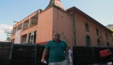 Giresunda yeni cami yapımı için eski caminin yıkımı başladı
