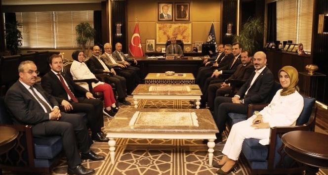AK Parti İl Başkanlığı, Bursalı vekiller ile istişare turunda