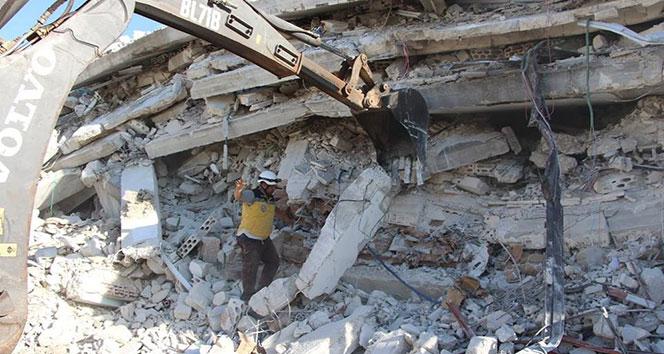 İdlibde patlama! Çok sayıda ölü ve yaralı...