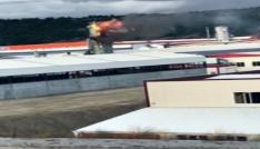 Tosya Organize Sanayi Bölgesinde yangın