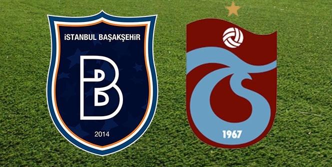 Başakşehir Trabzonspor Maç Ekranı