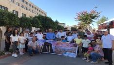 Batmanda 50 yetim öğrenci Çanakkaleye uğurlandı