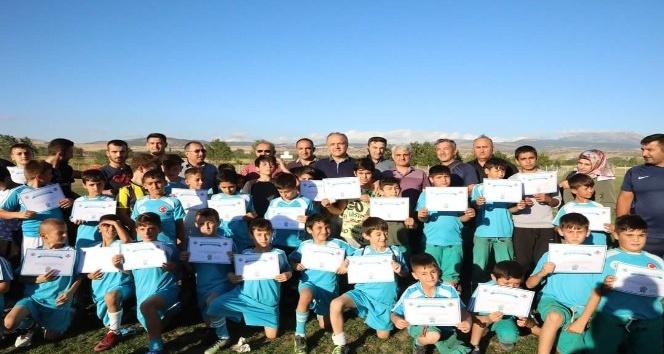 Belediye Suluovalı çocukları tatilde sporla buluşturdu