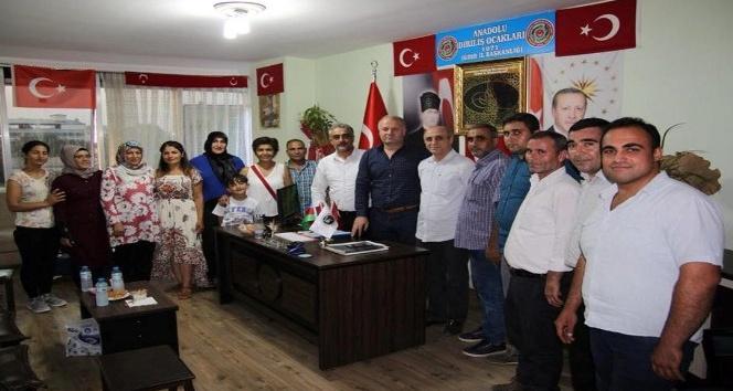 Başkan Gülbey, Anadolu Diriliş Ocaklarını ziyaret etti