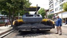 Başkan Arslan, asfalt çalışmalarını yerinde takip etti