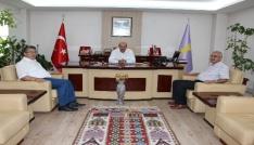 Konya Birlik Başkanı Baybağandan, ESOB Başkanı Konaka ziyaret