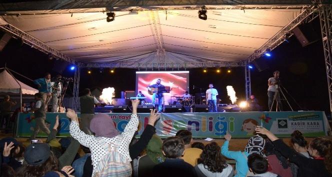 Zorkun Yaylası Çocuk Şenlikleri Hakan Sekin konseri ile coştu