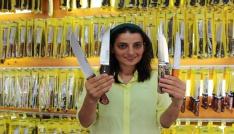 Kurban Bayramı öncesi Sürmene bıçağına olan ilgi arttı