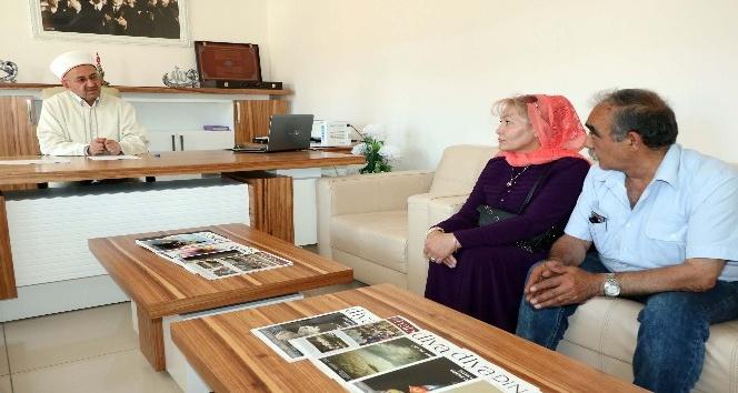 Yozgatta Rus asıllı kadın Müslüman oldu