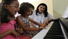 Şemdinlide çocuklara ve gençlere yönelik kurs