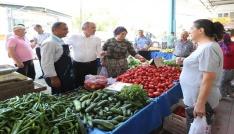Pamukkalede pazar yerleri daha güvenli ve düzenli